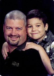 Dad & Gabe